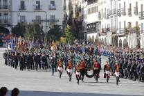 ACTOS DEL DIA DEL VETERANO DE LAS FUERZAS ARMADAS Y LA GUARDIA CIVIL EN LA PLAZA MAYOR DE CÁCERES